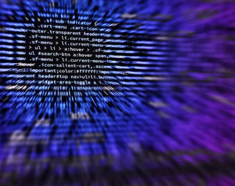 Bild mit Programmiercodes
