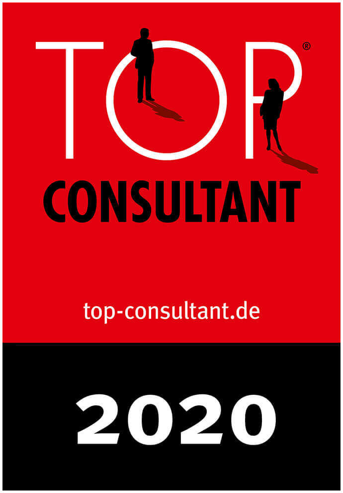 Auszeichnungssiegel Top Consultant 2020